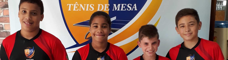 Mesatenistas de Joaçaba são convocados para a seletiva da Seleção Brasileira