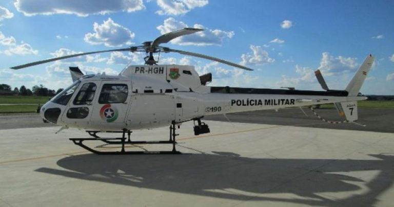 Polícia Militar recebe helicóptero por meio de acordo promovido pelo MPSC
