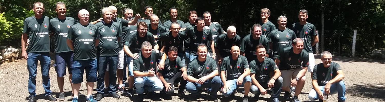 Confraternização dos atiradores de 1987 do TG/05-008 de Joaçaba foi um sucesso