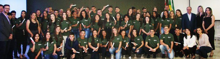 Programa Jovem Aprendiz Cotista inicia nova turma em Fraiburgo
