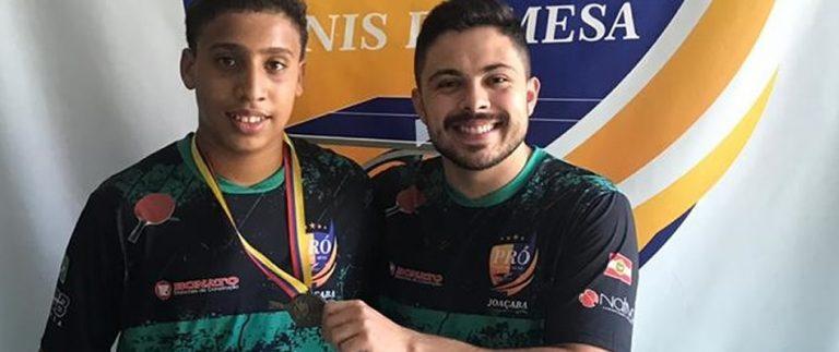 Mesatenista de Joaçaba competirá no Latino-Americano em Porto Rico