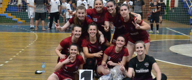 Pinheiro Preto conhece os campeões municipal e regional de futsal