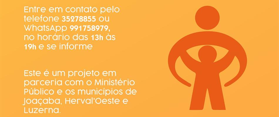 Joaçaba adere ao Projeto Apadrinhamento Social
