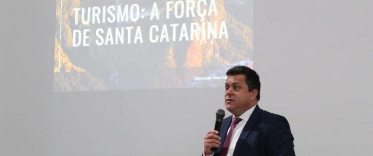 Ivan Naatz defende parcerias para alavancar o Turismo Regional em Santa Catarina