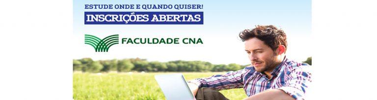 Faculdade CNA inicia processo seletivo para graduação a distância