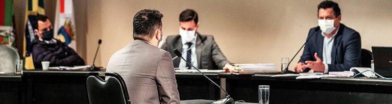 Sessões da CPI dos Respiradores  são transferidas para a próxima semana