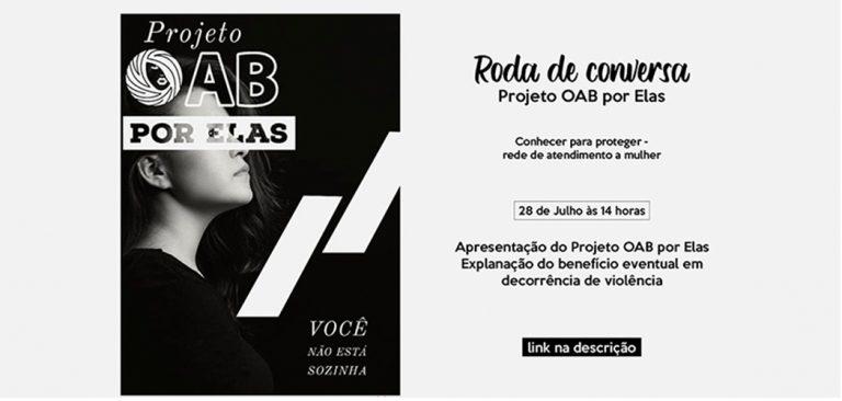 Joaçaba: OAB e Secretaria de Assistência Social promovem roda de conversa para mulheres
