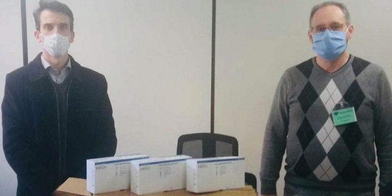 Joaçaba: Receita Federal repassa ao HUST testes rápidos de COVID-19