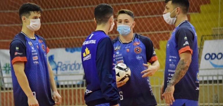 Joaçaba Futsal estreia na LNF 2020