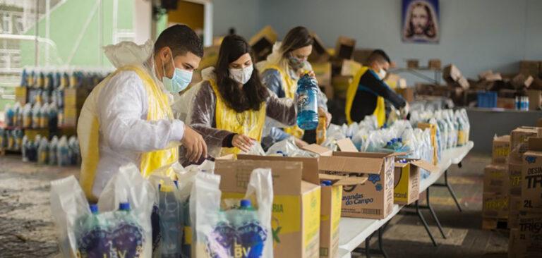 Voluntariado no enfrentamento da Covid-19