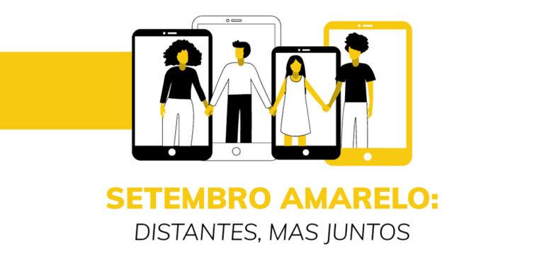 Setembro Amarelo: é hoje o seminário virtual que debaterá saúde mental de adolescentes e idosos