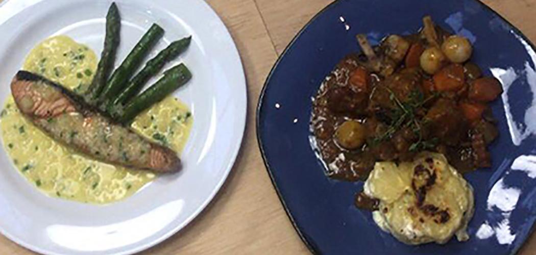 Curso de Gastronomia da Unoesc realiza atividade prática Cozinha clássica Francesa e Italiana