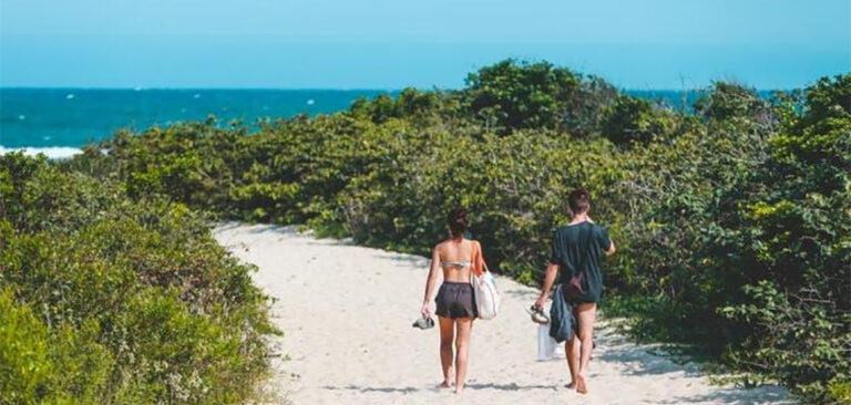 81,3% dos pontos analisados no litoral catarinense estão próprios para banho
