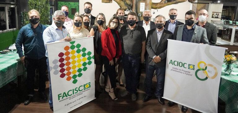 Joaçaba: ACIOC sedia plenária da Facisc e discute as demandas para 2021