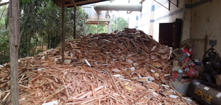 Instituto do Meio Ambiente realiza mais uma operação conjunta de combate a extração ilegal de Madeira