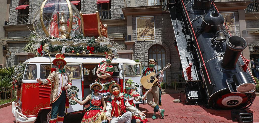 Natal chega no Mundo a Vapor