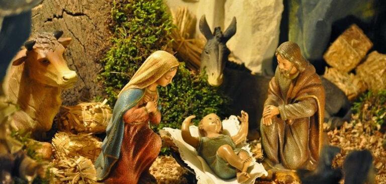 Natal feliz é Natal com Jesus, Maria e José!