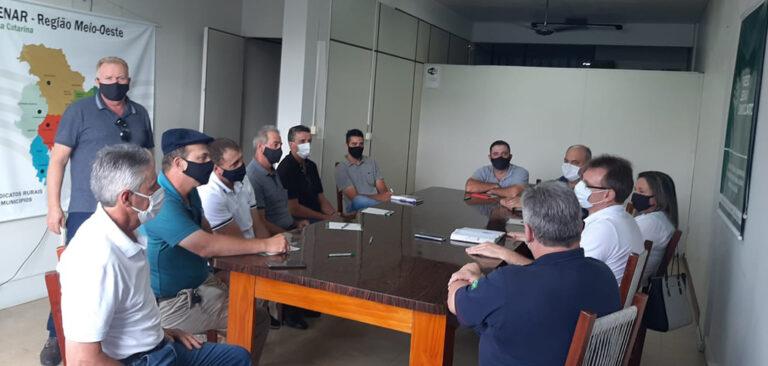 Sistema FAESC/SENAR inicia estruturação das Cadecs em Santa Catarina