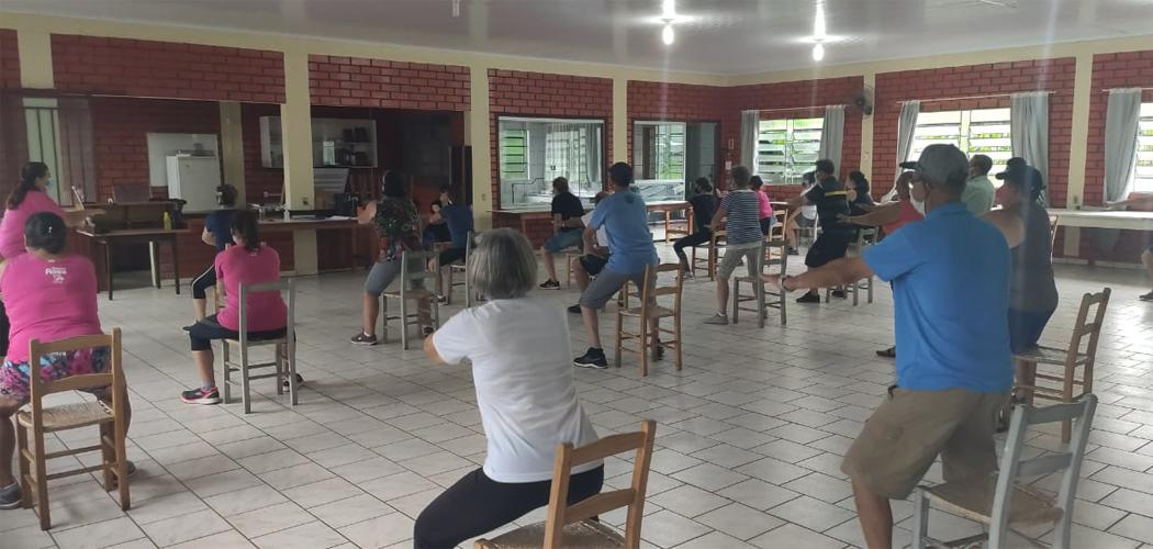 Secretaria de Saúde de Joaçaba oferece aulas gratuitas de exercícios físicos