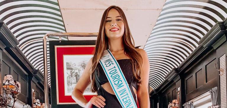 Passeio de trem de luxo é primeiro roteiro de Miss Turismo Internacional 2021
