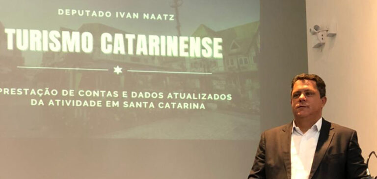 Ivan Naatz com foco no Turismo