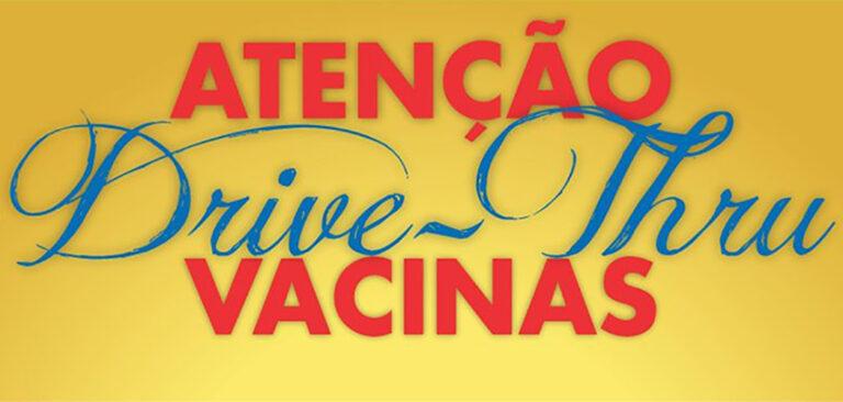 Drive-Thru de vacinação para pessoas a partir de 62 anos acontece nesta sexta (23) em Joaçaba