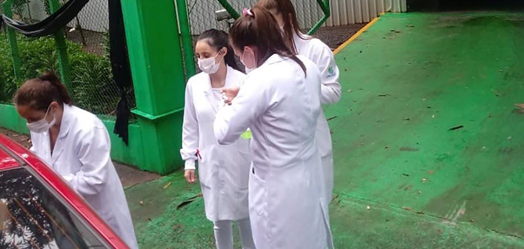 Acadêmicos de Enfermagem prestam serviços à comunidade durante a pandemia da Covid-19
