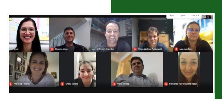 Diretoria da ACIAF de Fraiburgo realiza reunião online
