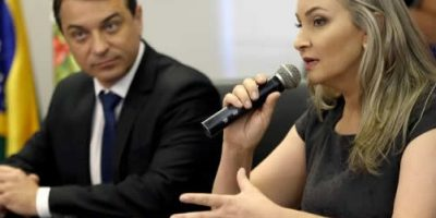 Moisés e Daniela dão posse ao primeiro escalão do Governo/Foto: Mauricio Vieira/SECOM