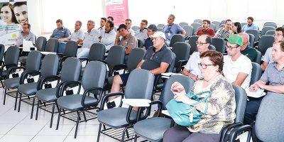 A palestra marcou o início das ações de preservação dos agentes polinizadores/Foto: Assessoria de Imprensa