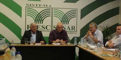 Lideranças se reuniram na sede da Faesc