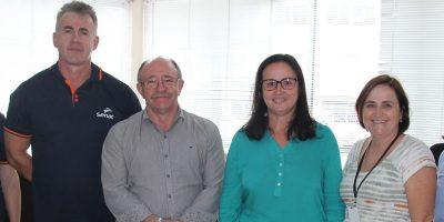 O Convênio assinado na tarde desta terça-feira (12) com o SENAC/Foto: Assessoria de Imprensa