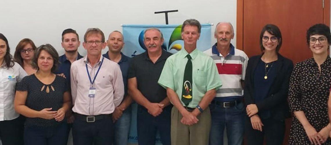 Membros do Comitê Gestor de Balneários do Oeste Catarinense participaram da reunião/Foto: Assessoria de Imprensa