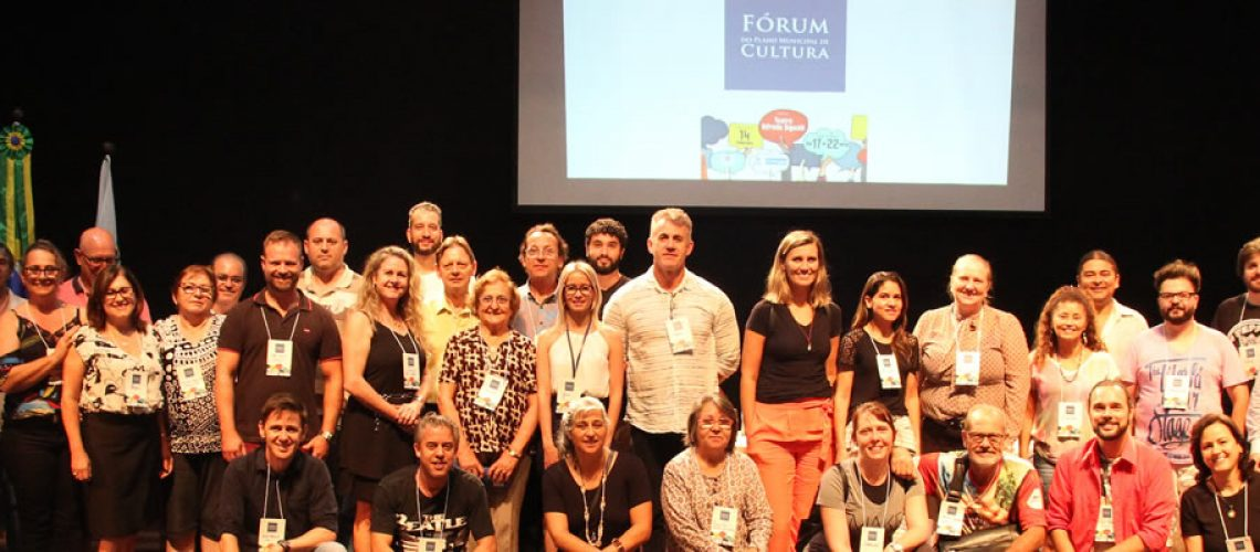 Este Fórum marca a primeira de uma série a ações públicas onde se pretende discutir as questões culturais do município/Foto: Assessoria de Imprensa
