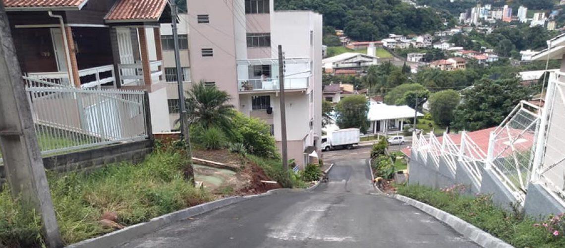 Pavimentação asfáltica da Rua Antônio Zagonel