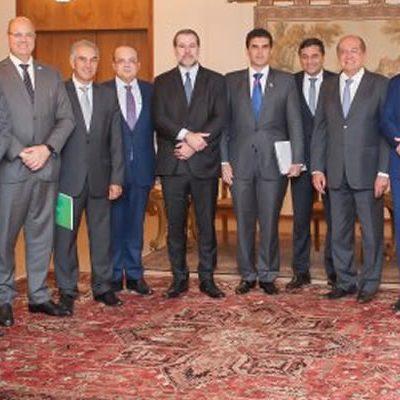 Governadores em encontro com os ministros do STF - Foto: Felipe Sampaio/SCO/STF
