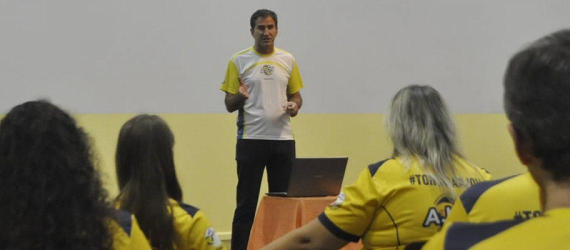 Vanderlei Antonio Semione é o novo Presidente da AJOV para gestão 2019/2021/Foto: assessoria de Imprensa