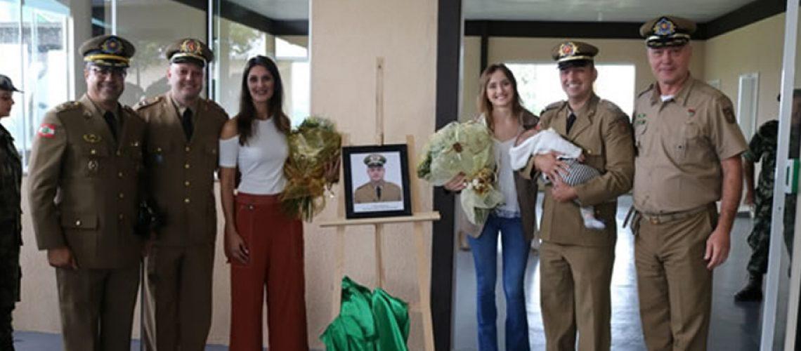 Os atos de passagem de comando são organizados e realizados com muita atenção desde a criação da PMSC/Foto: Soldado Ana Carolina Bernardi Teles