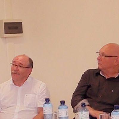 Reunião aconteceu no Salão de Atos do HUST/Foto: Bom Dia SC