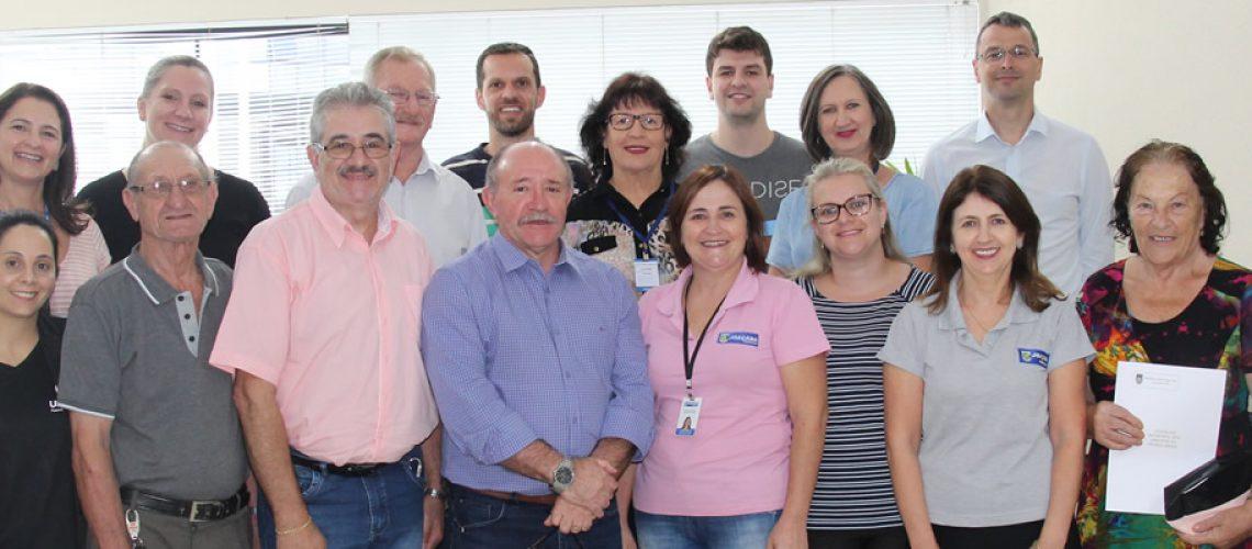 Os membros do Conselho  foram empossados para gestão 2019 e 2020/Foto: Assessoria de Imprensa