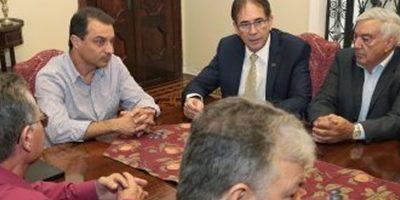 Reunião contou com a presença dos representantes das empresas e trabalhadores/Foto: Cristiano Estrela