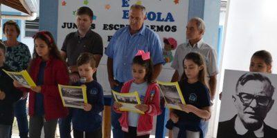 Centro Educacional Padre Trudo Plessers comemorou a data/Foto: Assessoria de Imprensa