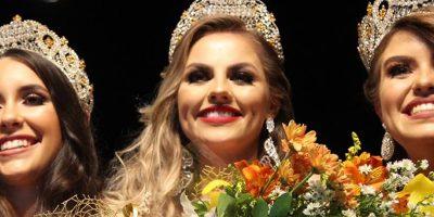 Foram eleitas: Maísa Carolina Pereira (Rainha)
