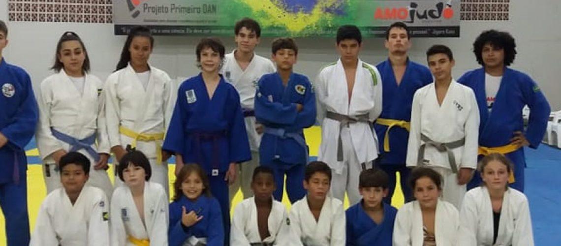 Nove atletas da Associação Meio Oeste de Judô (AMOJudô) foram convocados para integrar a seleção catarinense/Foto: Assessoria de Imprensa