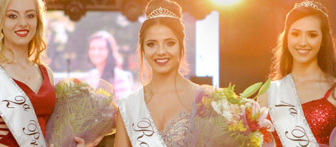 A estudante Sabrina Matos Moraski é a nova rainha do município de Iomerê/Foto: Assessoria de Imprensa