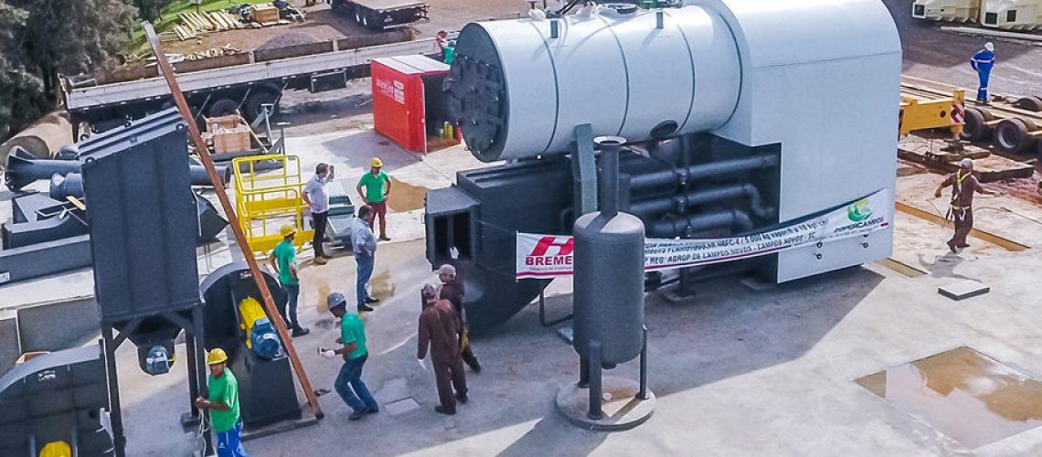 A Indústria de Rações Copercampos está sendo ampliada/Foto : Assessoria de Imprensa