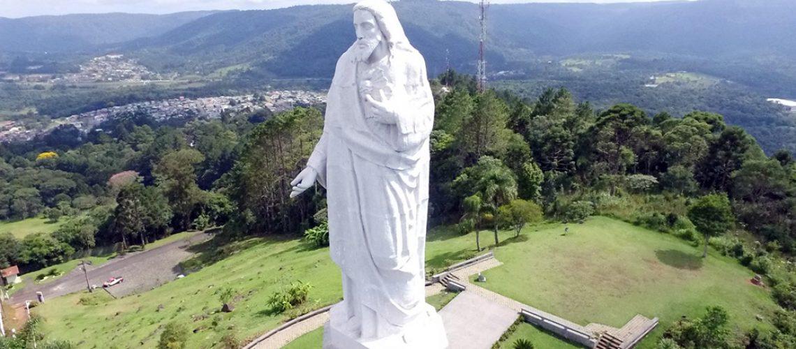 Morro do Cristo em União da Vitória / Destino turístico com o Monge João Maria