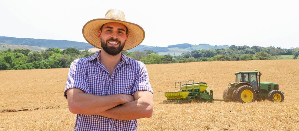O associado Ricardo Rodrigues Granzotto, da Fazenda São Sebastião, espera excelentes resultados em produtividade com a cultura