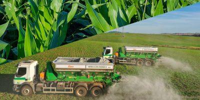 O agricultor pode retirar até cinco sacas de sementes de milho ou até 30 toneladas de calcário