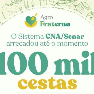 O Agro Fraterno é um movimento nacional liderado pelo Sistema CNA/SENAR/Foto: Internet